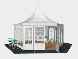 六边形篷房