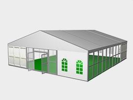 小跨度人字形篷房